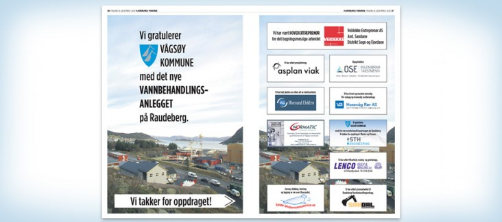 Under water project for Vågsøy Municipility
